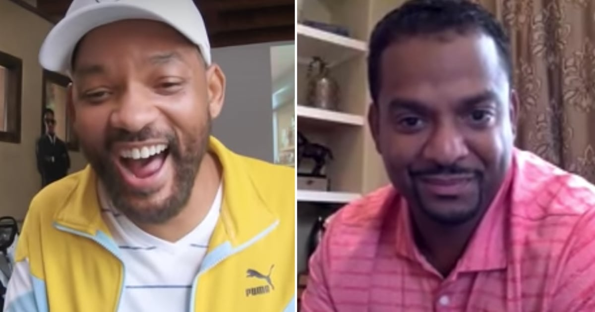 Watch Will Smith Reunite With Fresh Prince Of Bel-Air Cast